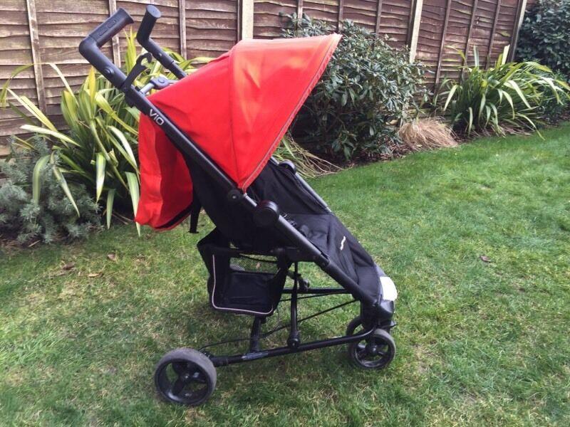 Mothercare Vio 3 Wheeler Lightweight Pushchair In Hedge