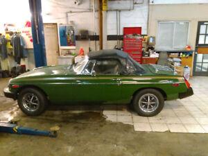MGB 1981 Classic Sports Car (call Carlo at 514-609-7117)