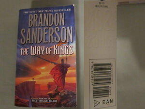 The Way of Kings (NY Times Best Seller) (Retail $11) for $3.50