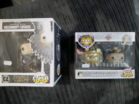 POP Animation figures game of thrones plus others