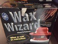 Wax wizard waxed and car polisher