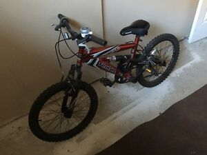 Kids 5 speed dual suspension bike