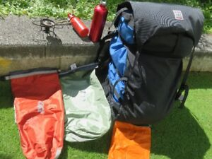 EXCELLENT, WELL  LOVED  CAMPING EQUIPMENT
