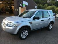 0707 Land Rover Freelander 2 2.2Td4 auto S Silver 5 Door 75476mls