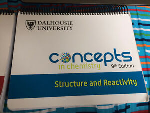 First Year Chemistry Dalhousie Textbooks (9th edition)