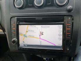 kenwood DNX520VBT volkswagen stereo double din sat nav caddy t5 t6