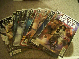 STAR WARS  LEGACY COLLECTOR COMICS