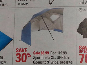 "Like-New Blue UV Protection ""Sport Brella"" for Sale!"
