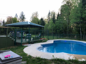 Laurentians Vacation 5br Home Pool + Hot Tub