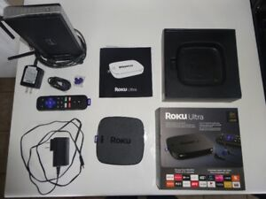 ROKU ULTRA In Perfect Condition*4K Capable* Free Wireless Router
