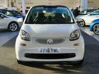2016 smart fortwo 0.9 Turbo White Edition 2dr Auto City-Car Petrol Automatic