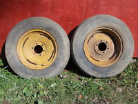 """18"""" Implement tires"""