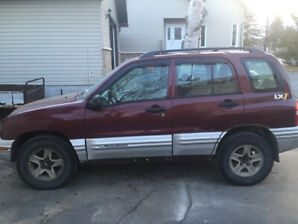 2001 Chevy tracker