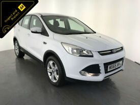 2015 65 FORD KUGA ZETEC TDCI DIESEL 1 OWNER SERVICE HISTORY FINANCE PX WELCOME