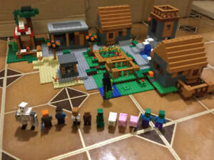lego Minecraft The Village, 1600pc. Retired set