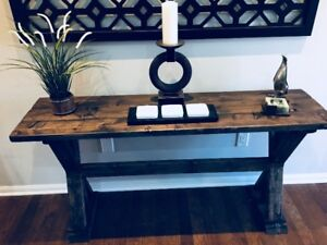 Rustic Sofa/Entry/Hallway Console Tables - NEW