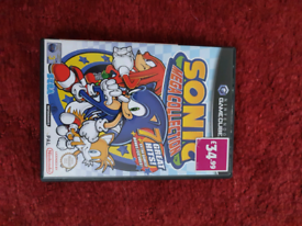 Gamecube sonic mega collection boxed with instructions