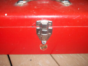 2 Metal Toolboxes for Sale