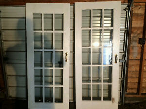 2 French Doors - Can Deliver