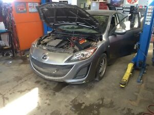 Parting out 2010 Mazda 3 2.0 l