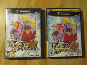 Nintendo Gamecube TALES OF SYMPHONIA Video Game RPG Vintage LOT