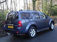 2008 08 Nissan Pathfinder 2.5dCi 171 auto AVENTURA..7 SEATS..VERY HIGH SPEC!!