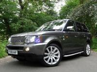 2008 Land Rover Range Rover Sport 3.6TD V8 auto HSE..R/ENTERTAINMENT..E/SUNROOF