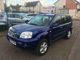 2005 Nissan X-TRAIL 2.5 SVE, 72k fsh, 1 previous owner