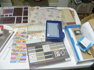 Scrapbook and card making supplies garage sale Prince George British Columbia image 7