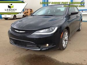 2015 Chrysler 200 S  - Leather Seats -  Bluetooth -  Heated Seat