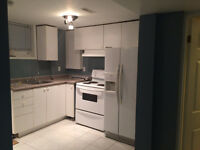 BASEMENT APARTMENT FOR RENT (PORT UNION & LAWRENCE)