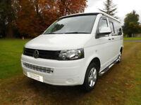 VW T5 2014 low miles campervan for sale Cirencester