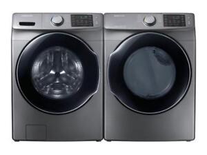 Combo laveuse-sécheuse Samsung 27 po, ENERGY STAR, Gris