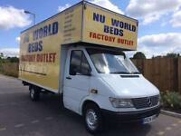 MERCEDES SPRINTER 1999 310 D 2.9 TD LWB + LARGE LUTON WITH LOW MILEAGE