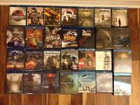 Blu ray SOA Walking Dead IMAX BBC Indiana Jones GOT