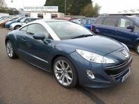 2011 Peugeot RCZ 1.6THP 156 GT 77K FSH Blue/Silver Stunning Car Excellent Cond