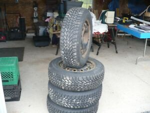 winter tires &;rims for sale