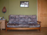 Wooden frames 3 piece suite