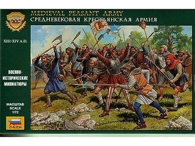 Zvezda Medieval Peasant Army 1:72