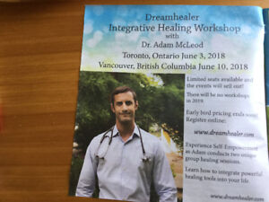 """2  """"DREAMHEALER """"TICKETS AVAILABLE"""