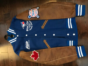 Roots Blue Jays 40th anniversary varsity jacket
