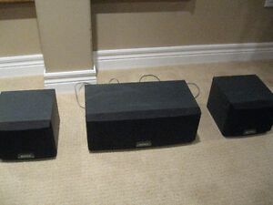 Sony speaker set  SS-SR305 and SS-CN305
