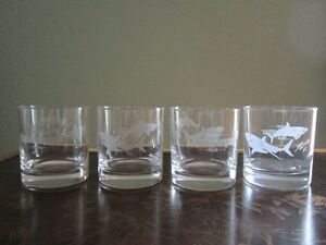 Captain Morgan Rum Set of 4 Glasses