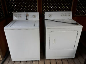 Washer-Dryer Laundry Combo (Kenmore 80 Series)