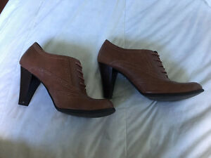 Faux Leather American Eagle High Heel Booties Size 11