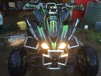 Kawasaki kfx 450r road registered ltz Ltr raptor trx