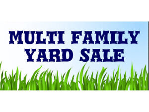 Multi-Family Yard Sale, Caledonia