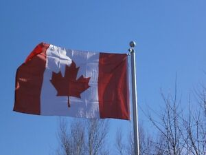 CANADIAN FLAG Cornwall Ontario image 1