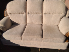 3 seater + armchair as new delivery available