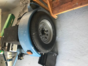 BRAND NEW CAR DOLLY WITH ELECTRICAL WINCH USED ONLY 3 TIMES